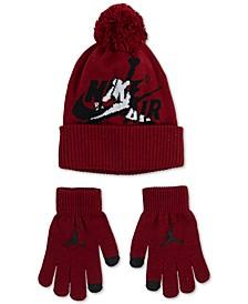 Big Boys 2-Pc. Jumpman Classic Beanie & Gloves Set