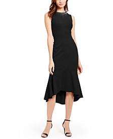 High-Low Midi Dress