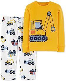 Carter's Toddler Boys 2-Pc.Construction Pajamas Set