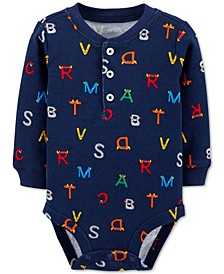 Baby Boys Alphabet Collectible Bodysuit