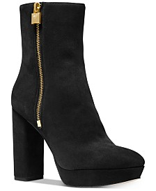 Michael Michael Kors Frenchie Platform Booties