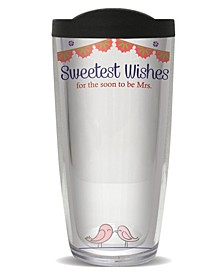 Sign-It Bridal Shower Double Wall Insulated Tumbler, 16 oz