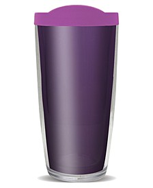 Amethyst Double Wall Insulated Tumbler, 16 oz