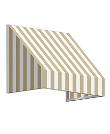 """8' New Yorker Window/Entry Awning, 31"""" H x 24"""" D"""