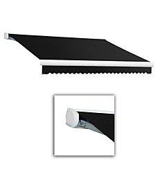 """8' Key West Full Cassette Manual Retractable Awning, 78"""" Projection"""
