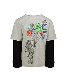 Baby Boy's Astro Long Sleeve Shirt