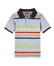 Baby Boy's Striped Polo