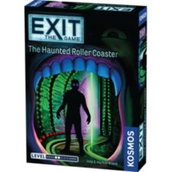 Thames & Kosmos Exit - The Haunted Roller Coaster