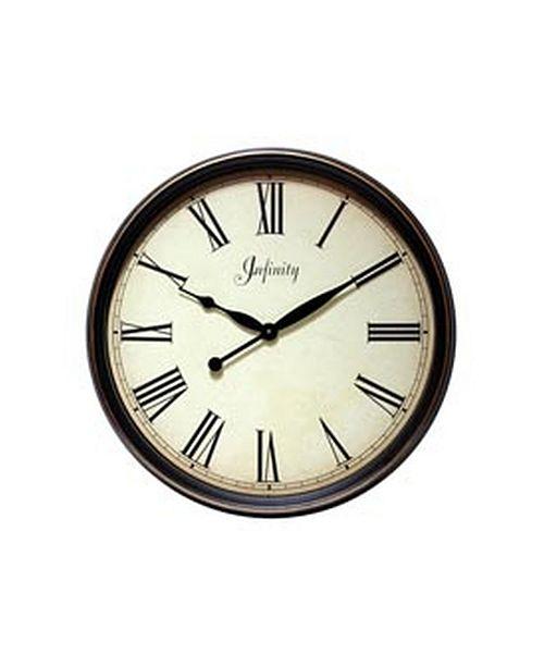 Infinity Instruments Hanging Decorative Wall Clock