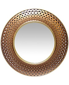 Infinity Instruments Round Wall Mirror