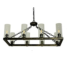 Canyon Home 8 Light Kitchen Island Chandelier