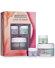 3-Pc. Love To Mask Claymates Be Bright & Be Firm Mask Set