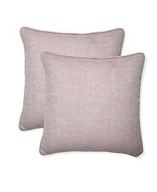 """Sunbrella 16"""" x 16"""" Outdoor Decorative Pillow 2-Pack"""
