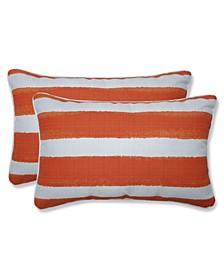 "Nico Stripe 11.5"" x 18.5"" Outdoor Decorative Pillow 2-Pack"