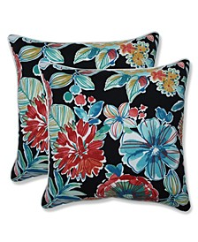 "Colsen Floral 18"" x 18"" Outdoor Pillow 2-Pack"