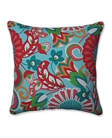"""Sophia Floral 25"""" Outdoor Floor Pillow"""