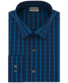 Men's Slim-Fit All Day Flex Check Dress Shirt
