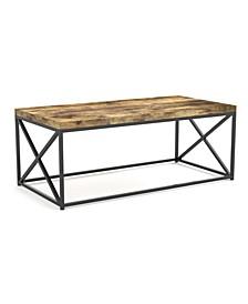 Safdie & Co. Coffee Metal Table