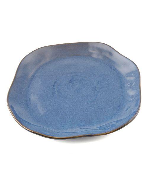Thirstystone CLOSEOUT Blue Ceramic Platter