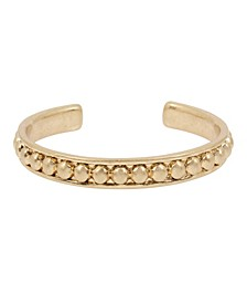 Bead Textured Skinny Cuff Bracelet