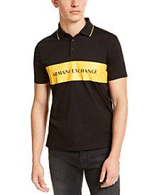A|X Armani Exchange Men's Logo Polo Shirt