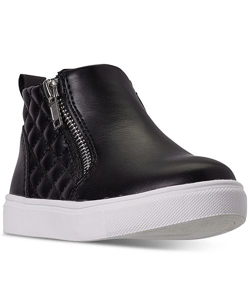 Steve Madden Toddler Girls' TREGGIE High Top Casual Sneakers from Finish Line