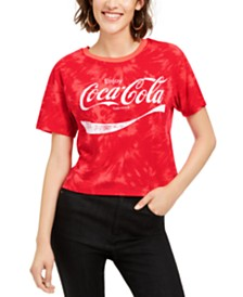 Love Tribe Juniors' Coca-Cola Tie-Dye T-Shirt