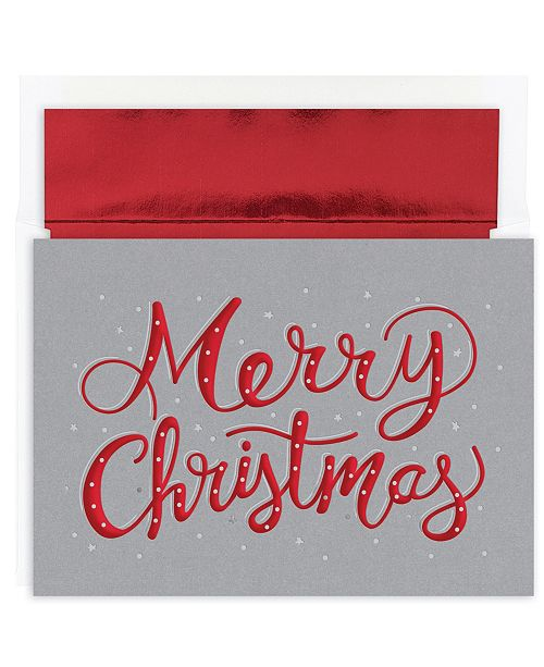 Masterpiece Studios Merry Christmas Sparkle Holiday Boxed Cards