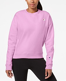 Women's Essential Reverse Weave Fleece Sweatshirt