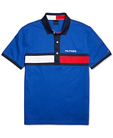 Men's Custom-Fit Holly Josh Polo Shirt with Magnetic Buttons