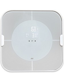 Optima Home Scale Vitalize Bluetooth BMI Bathroom Scale with App