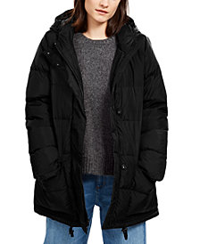 Eileen Fisher Hooded Puffer Jacket, Regular & Petite