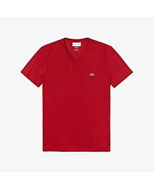 Men's V-Neck Pima Cotton T-Shirt