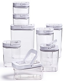 16-Pc. Plastic Food Storage Container Set, Created For Macy's
