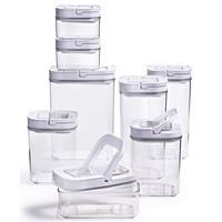 Tools of the Trade 16-Piece Plastic Food Storage Container Set
