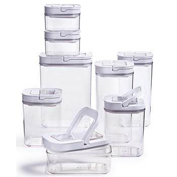 16-Piece Plastic Food Storage Container Set + $10 Macys Money