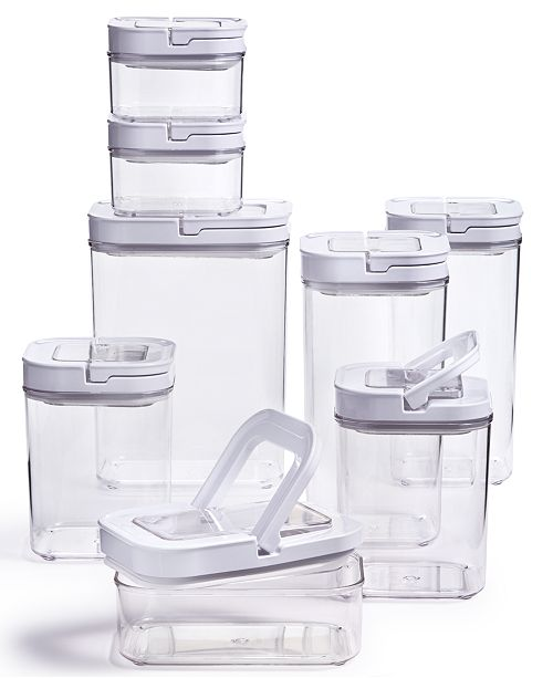 Tools of the Trade 16-Pc. Plastic Food Storage Container Set ...