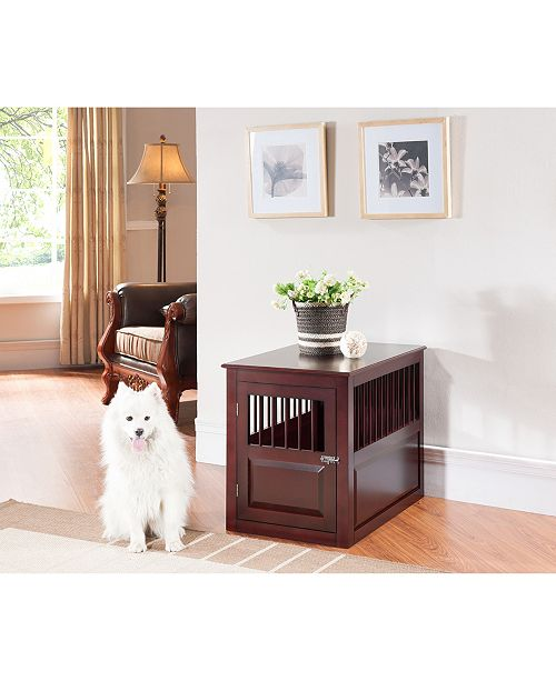 Mason Spindle Dog Crate End Table