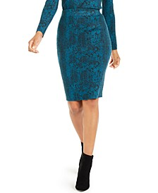 Jacquard Sweater Skirt, Created For Macy's