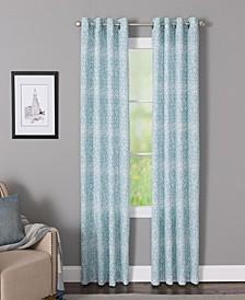 "Indira 50"" x 63"" Printed Curtain Panel"