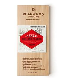 Cedar Grilling Planks, 2-Pack