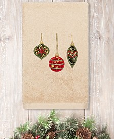 Christmas Ornaments Embroidered 100% Turkish Cotton Hand Towel