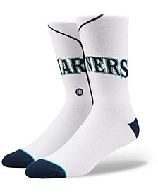 Seattle Mariners Home Jersey Series Crew Socks