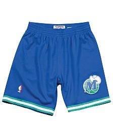 Mitchell & Ness Men's Dallas Mavericks Swingman Shorts