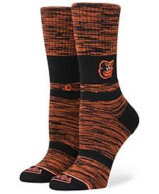 Women's Baltimore Orioles Classic Crew Socks