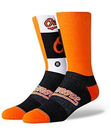 Baltimore Orioles Pop Fly Crew Socks