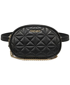 Nine West City Slicker Convertible Crossbody Belt Bag