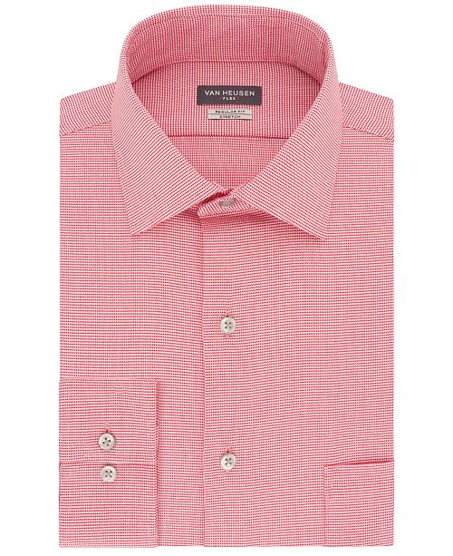 Van Heusen Men's Classic-Fit Wrinkle-Free Flex Collar Dress Shirt