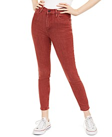 Juniors' Colored Skinny Ankle Jeans