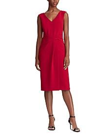 Lauren Ralph Lauren Ruched Sleeveless Dress